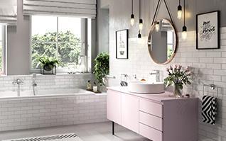 Piękna łazienka: 20 efektownych pomysłów na wystrój