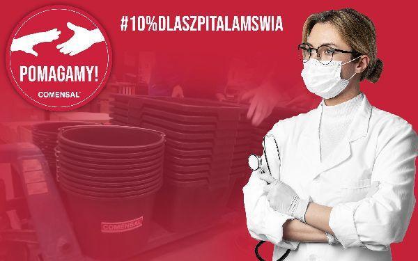 Firma COMENSAL wspiera Warszawski Szpital MSWiA