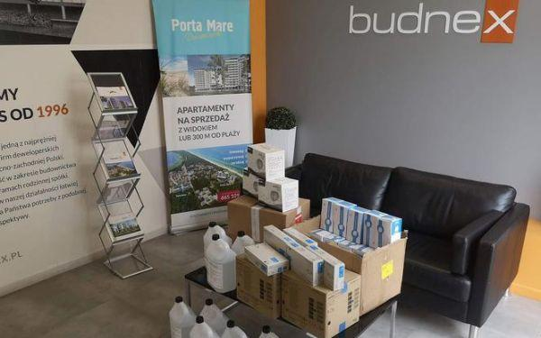 Budnex wspiera szpitale w sześciu miastach